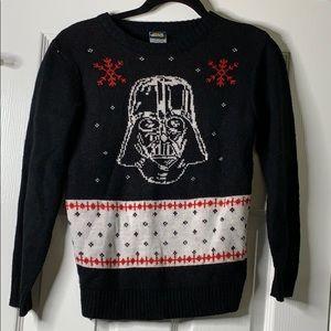 Junior's' Star Wars Darth Ugly Christmas Sweater